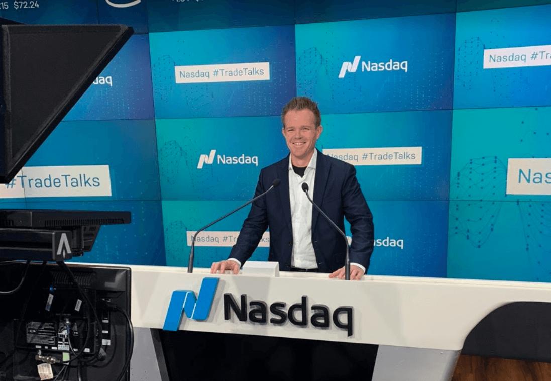 Reese @ the NASDAQ NYC